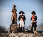 Odhalení sochy u Podolí